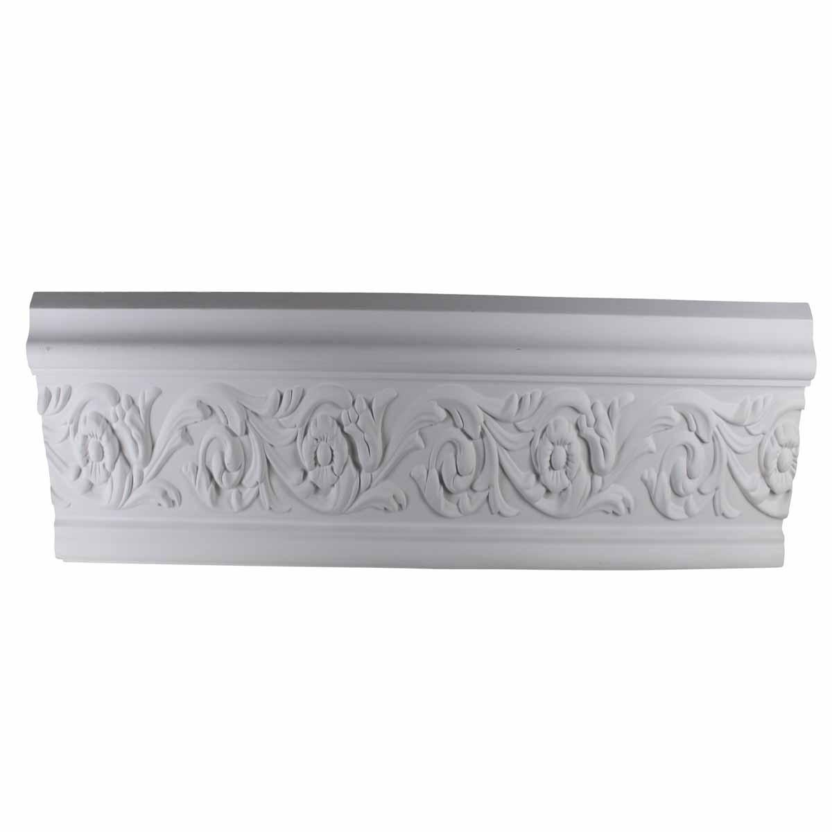 Cornice White Urethane Sample of 11657 23.5 Long Cornice Cornice Moulding Cornice Molding