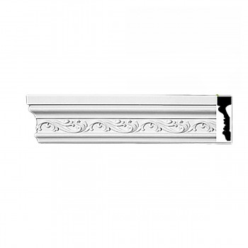 Cornice White Urethane Sample of 11662 23.5 Long Cornice Cornice Moulding Cornice Molding