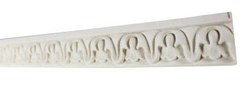 <PRE>Cornice White Urethane Sample of 11670 23.5inch Long </PRE>zoom4