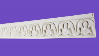 <PRE>Cornice White Urethane Sample of 11670 23.5inch Long </PRE>zoom7