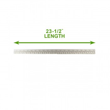 "spec-<PRE>Cornice White Urethane Sample of 11670 23.5"" Long </PRE>"