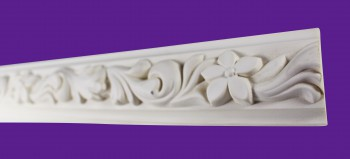 <PRE>Cornice White Urethane 23.5inch Sample of 11675 </PRE>zoom8