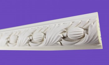 <PRE>Cornice White Urethane 23.5inch Sample of 11700 </PRE>zoom8