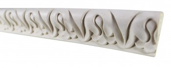 <PRE>Cornice White Urethane 23.5&quot; Sample of 11713 </PRE>