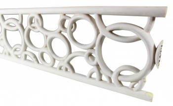 Cornice White Urethane Sample of 11718 24 Long Cornice Cornice Moulding Cornice Molding