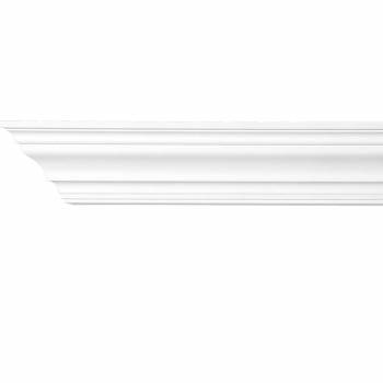 Cornice White Urethane Sample of 11732 24 Long Cornice Cornice Moulding Cornice Molding