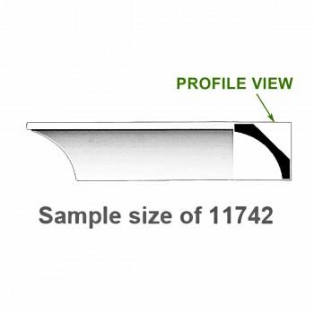 <PRE>Cornice White Urethane 24inch Sample of 11742 </PRE>zoom1