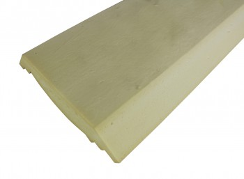 <PRE>Cornice White Urethane Sample of 11753 23.5inch Long </PRE>zoom6