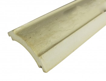 <PRE>Cornice White Urethane Sample of 11766 23.5inch Long </PRE>zoom8