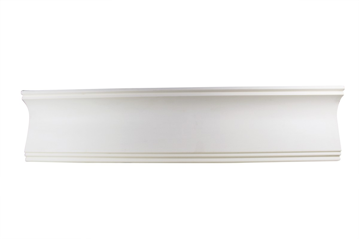 Cornice White Urethane Sample of 11769 23.5 Long Cornice Cornice Moulding Cornice Molding