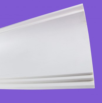 <PRE>Cornice White Urethane Sample of 11769 23.5inch Long </PRE>zoom4