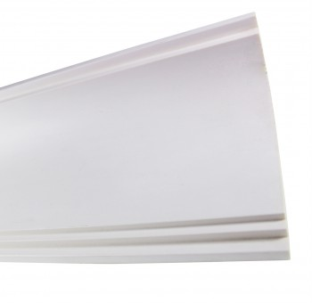 <PRE>Cornice White Urethane Sample of 11769 23.5inch Long </PRE>zoom5