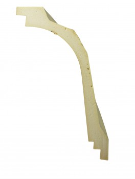 <PRE>Cornice White Urethane Sample of 11769 23.5inch Long </PRE>zoom7