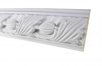 Cornice White Urethane Sample of 18861 19.5 Long Cornice Cornice Moulding Cornice Molding