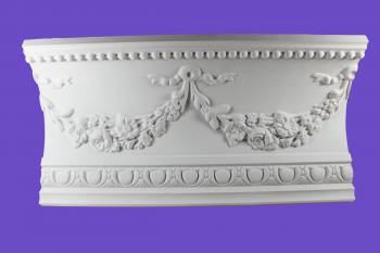 <PRE>Cornice White Urethane Sample of 18865 18.75inch Long </PRE>zoom2