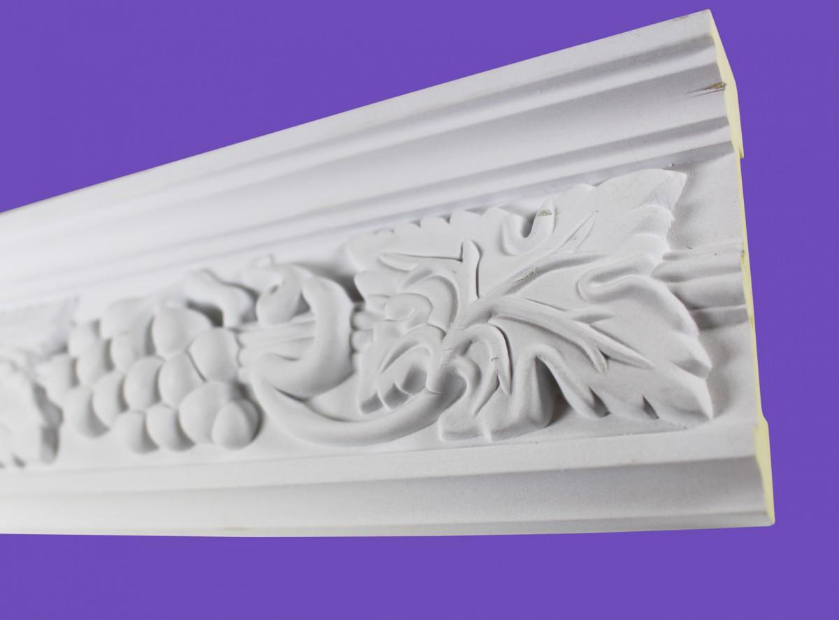 Cornice White Urethane 19.5 Sample of 20406 Cornice Cornice Moulding Cornice Molding