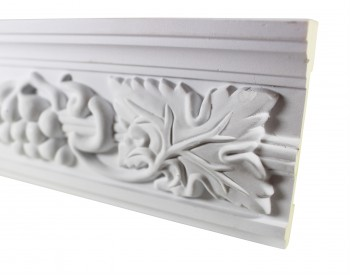 <PRE>Cornice White Urethane 19.5inch Sample of 20406 </PRE>zoom3