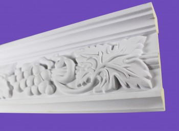 <PRE>Cornice White Urethane 19.5inch Sample of 20406 </PRE>zoom4