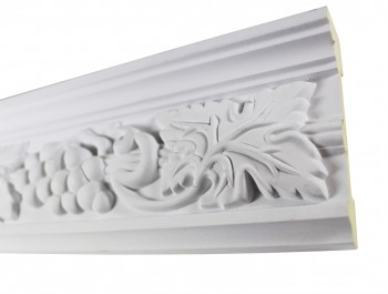 <PRE>Cornice White Urethane 19.5inch Sample of 20406 </PRE>zoom5