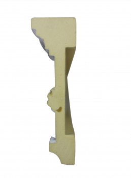 <PRE>Cornice White Urethane 19.5inch Sample of 20406 </PRE>zoom7