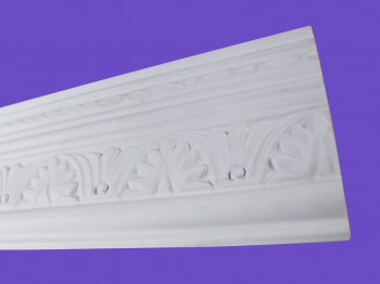<PRE>Cornice White Urethane Sample of 20419 19.75&quot; Long </PRE>