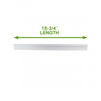 "spec-<PRE>Cornice White Urethane Sample of 20799 24.25"" Long </PRE>"