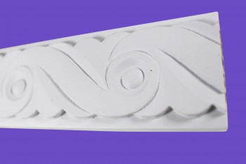 <PRE>Cornice White Urethane Sample of 20800 19inch Long </PRE>zoom4