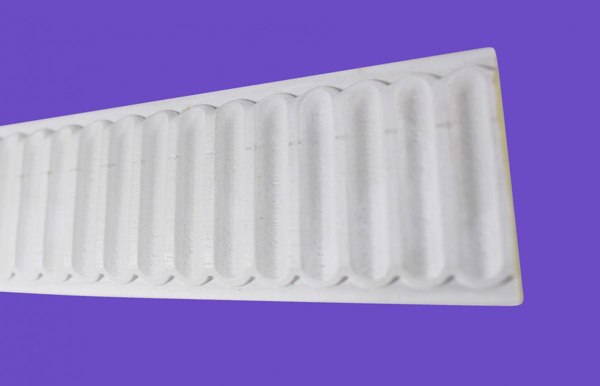Cornice White Urethane Sample of 20801 19.5 Long Cornice Cornice Moulding Cornice Molding