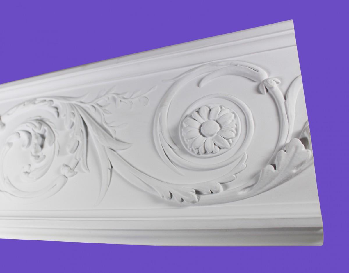 Cornice White Urethane 14.75 Sample of 20803 Cornice Cornice Moulding Cornice Molding