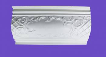 <PRE>Cornice White Urethane Sample of 19969 </PRE>zoom2