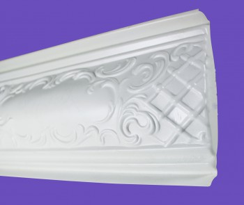 <PRE>Cornice White Urethane Sample of 19969 </PRE>zoom4