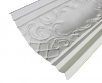 <PRE>Cornice White Urethane Sample of 19969 </PRE>zoom8