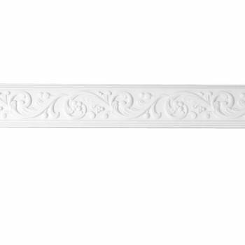 Cornice White Urethane Sample of 20405 12715grid