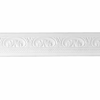Cornice White Urethane Sample of 20795 12719grid