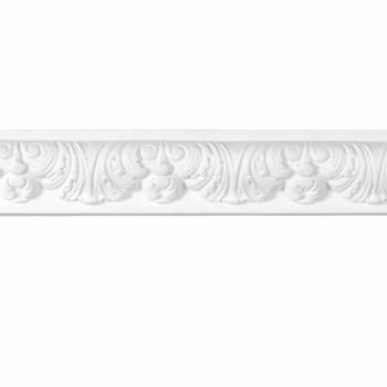 Cornice White Urethane Sample of 20798 12720grid
