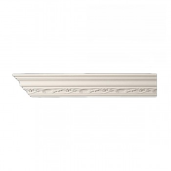 Cornice White Urethane Sample of 10998  12722grid