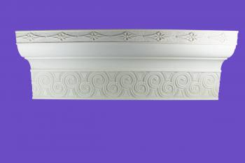<PRE>Cornice White Urethane Sample of 11172 </PRE>zoom2