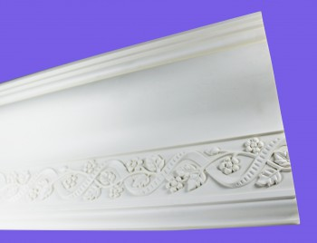 <PRE>Cornice White Urethane Sample of 11186 </PRE>zoom3