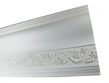 <PRE>Cornice White Urethane Sample of 11186 </PRE>zoom5