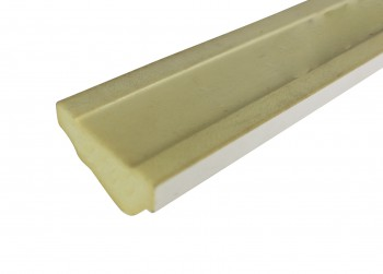 <PRE>Cornice White Urethane Sample of 11566 </PRE>