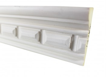 <PRE>Cornice White Urethane Sample of 11689 </PRE>zoom3