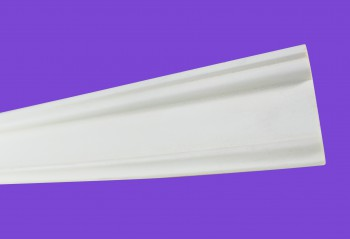 <PRE>Crown Moldings White Urethane Sample of 11731 </PRE>zoom5