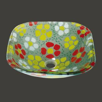 Glass Sinks - Sunflower 