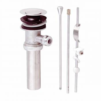 Sink Lever Drain Chrome 1 3/4