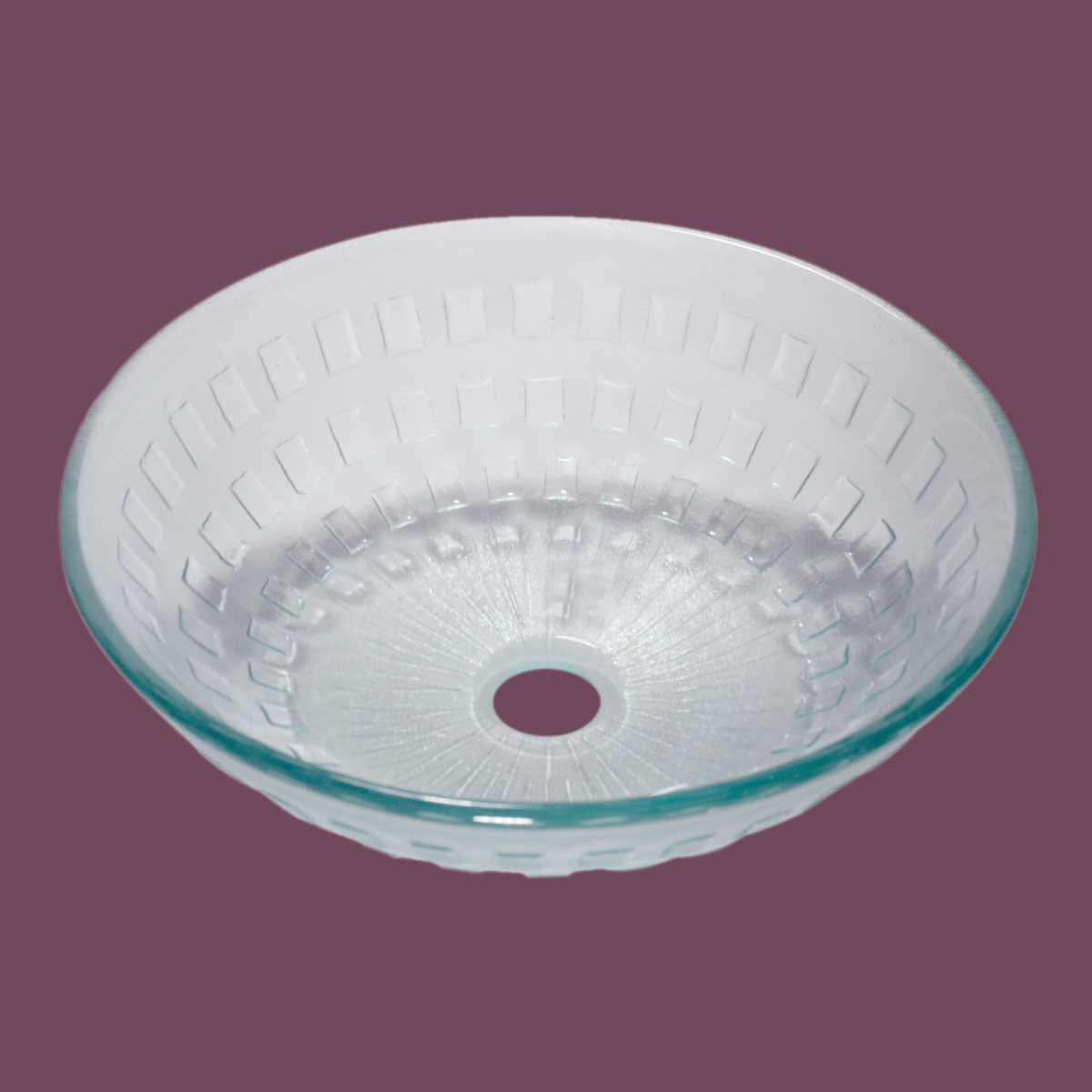 U003cPREu003eRenovatoru0027s Supply Bathroom Tempered Clear Glass Vessel Sink Round  Pop Up ...