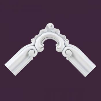 Door Trim White Urethane Foam Corner High Density Door Trim Decorative White Door Trim Simple Roman Door Trim