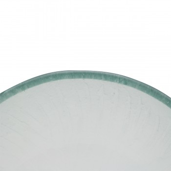 <PRE>Mini Tempered Glass Vessel Sink with Drain, Frosted Green Textured Bowl Sink</PRE>zoom10