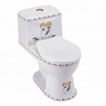 Chippy Mouse Child-size Toilet White