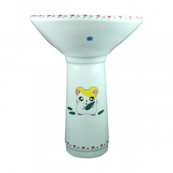 <PRE>Children Pedestal Sink Painted China Chippy Mouse </PRE>zoom1