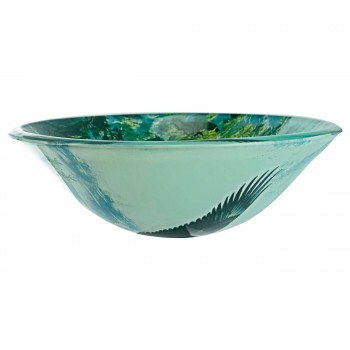 <PRE>Eagle Tempered Glass Vessel Sink with Drain, Patriotic Double Layer Bowl Sink</PRE>zoom5